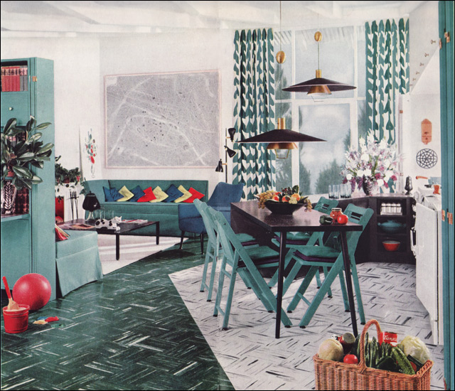 1950s modern design living room by armstrong flickr