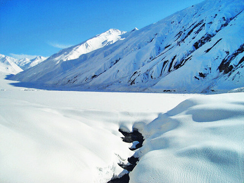 side view of Saif Ul Malook (frozen)