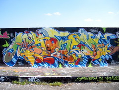 Plaistow graffiti HOF