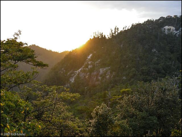Mt. Misen Sunset