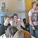 David Sjunnesson and eager participants @ Arduino Workshop @ Reboot11 by pellesten