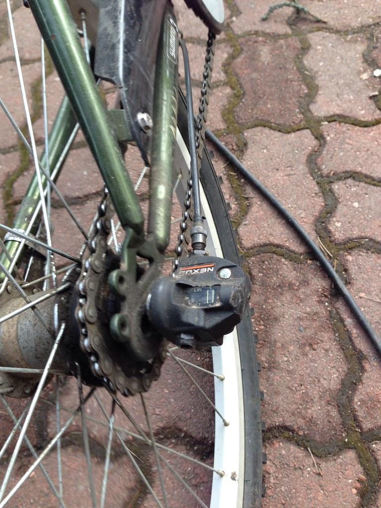 Pyörän vaihteet jumissa