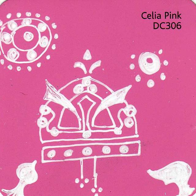 Art Deco Pink Paint