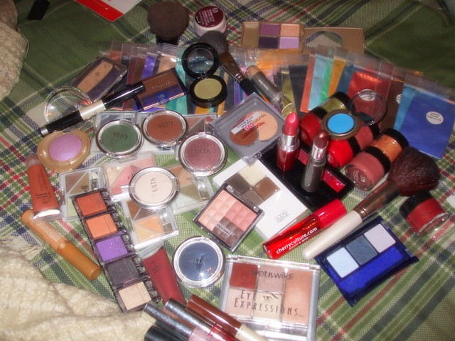 All my unloved makeup...