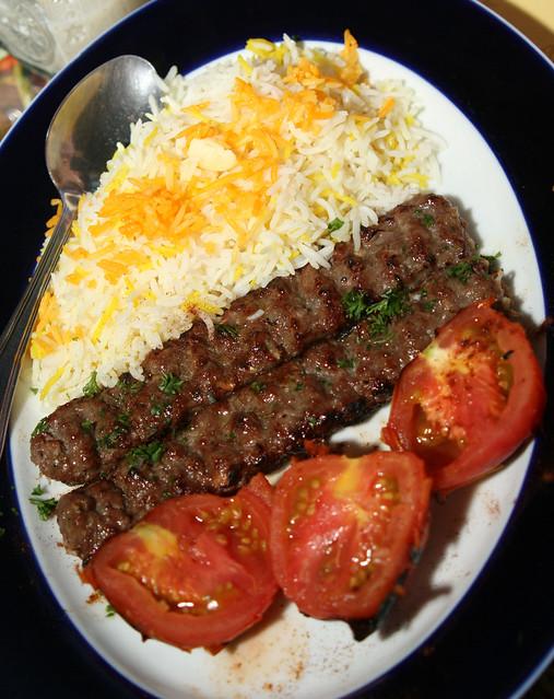 Beef koobideh flickr photo sharing for Arya persian cuisine