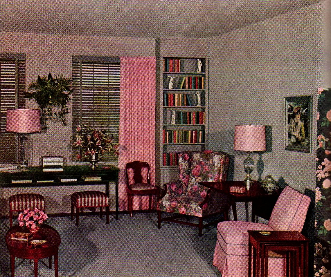 Pink And Grey Living Room A Photo On Flickriver