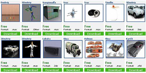 61 Excelentes Paginas Web De Modelos 3d Gratis 3dmax