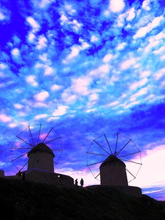 Mykonos, Greece, The Windmills of My Mind