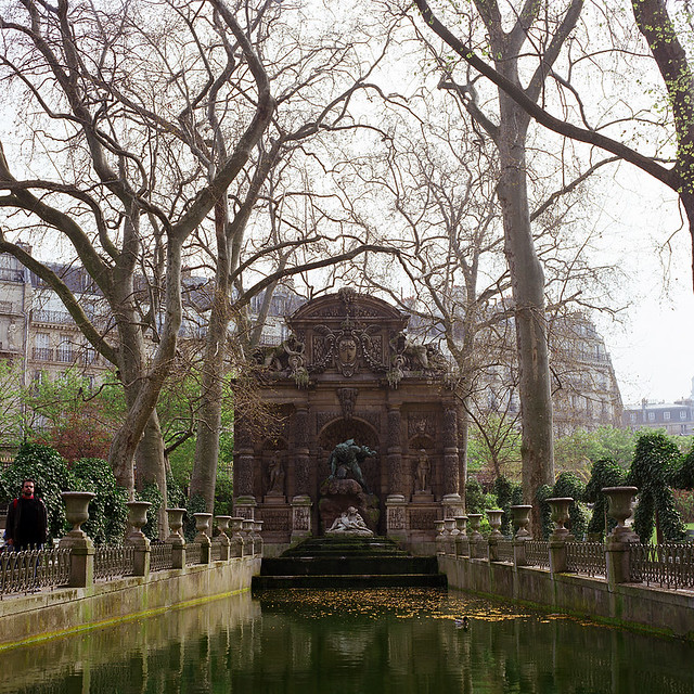 Jardins de paris vintage recent views a gallery on for Arbres jardin du luxembourg
