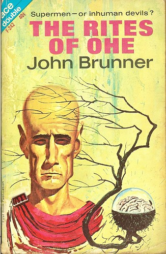 Rites of Ohe - John Brunner - cover by Valigursky - stated First Book Publication thus 1st edition