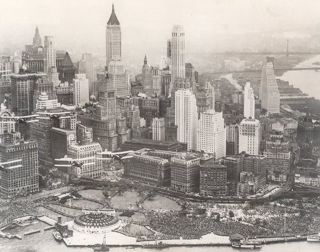 1931-Battery-Park-Aeriel-View-NYC
