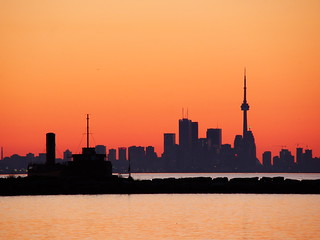 Toronto from Port Credit