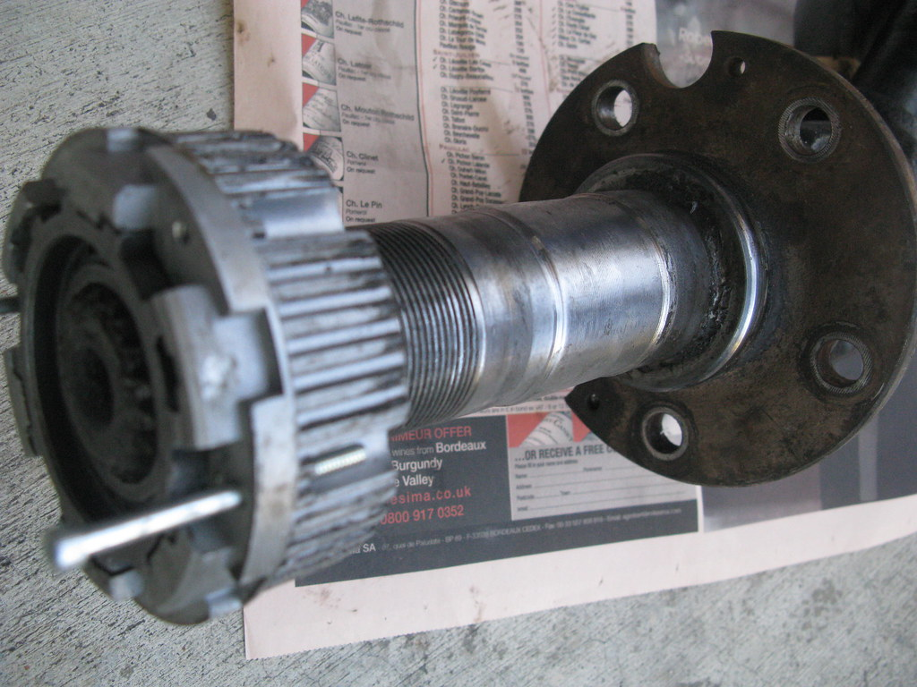 Ford Bronco Replacement Spindles : Warn locking hubs spindle axle conversion on bronco