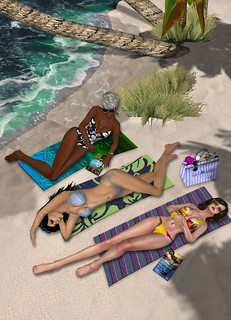Sunbathing - Part of the Fashion Spread found in ROLE's June magazine