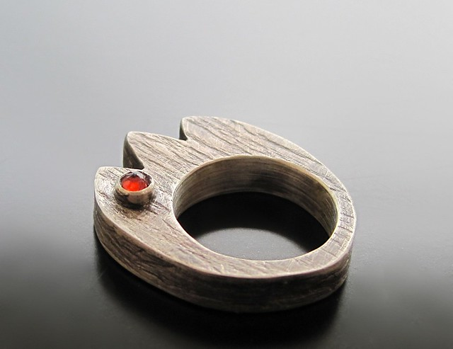 how to make a hollow form ring