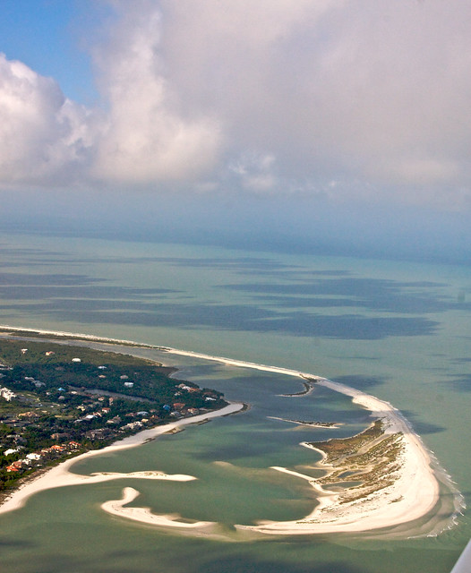 Marco Island Beach: Tigertail Beach, Marco Island - Aerial View