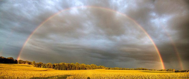 Rainbow Panorama (HDR)