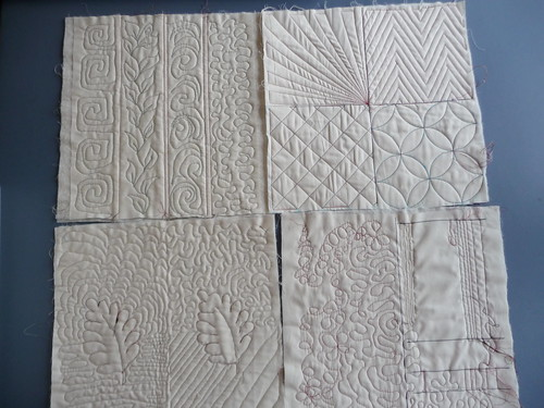 Machine Quilting from Quilting Loft class