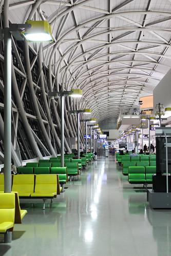 関西国際空港のロビー
