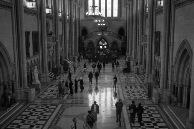 Royal Courts of Justice Interior