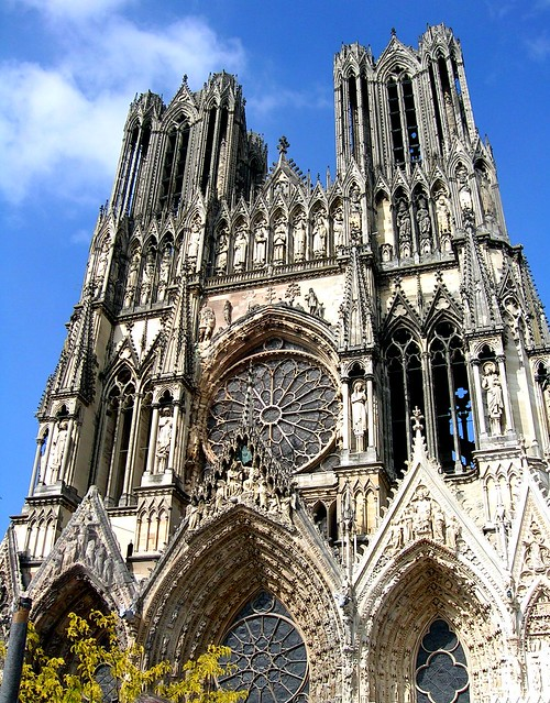 Frankreich - Reims - Kathedrale