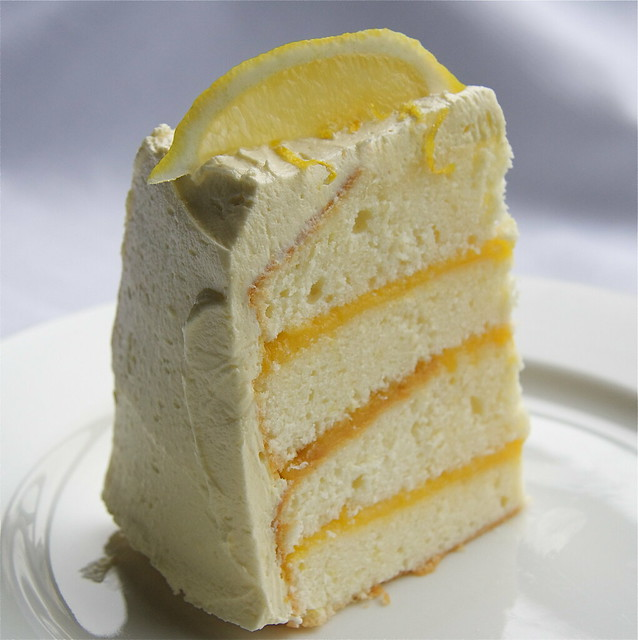 Lemon Layer Cake | Flickr - Photo Sharing!