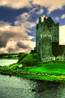 Best Ireland Castles: Dunguaire Castle, County Galway (credit: stahrdust3)