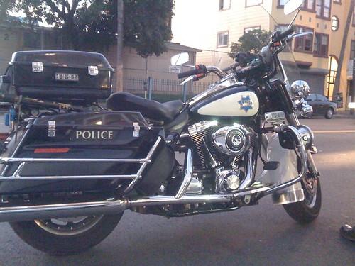 SFPD Harley Davidson