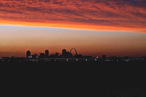 city sky skyline arch stlouis stl shawnmedia
