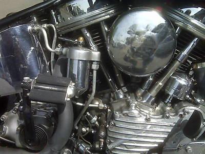Harley Davidson FL Panhead 1951 engine