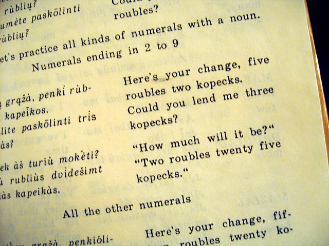 Slightly Dated Phrasebook