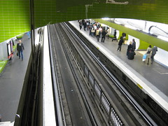 train station, passenger, track, metro station, infrastructure,