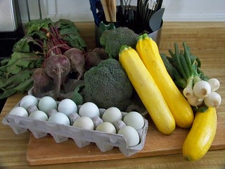 Chiropractor Darwin Eggs and Vegetables