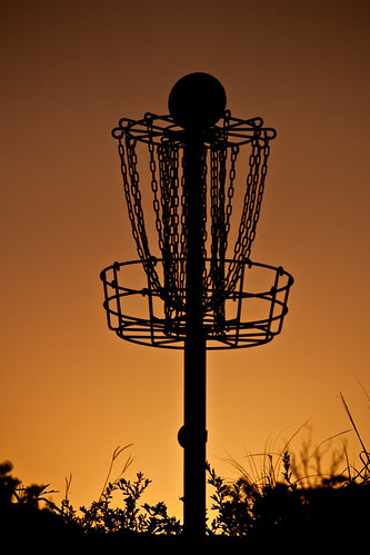 road park sunset golf rouge basket highland disc baton
