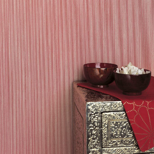 ... Modern wallpaper: Pink candy stripes | by SarahKaron