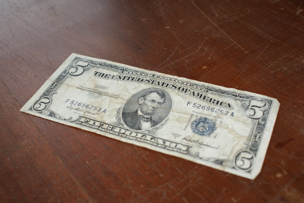 What Is The Value Of A 1953 Five Dollar Silver Certificate ...