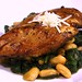 Balsamic Chicken w. Sauteed Spinach & White Beans