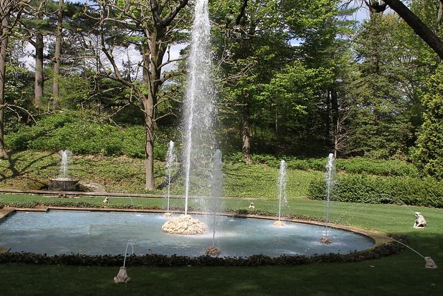 Longwood Gardens Italian Fountain Flickr Photo Sharing