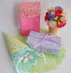 Doily Gift Wrap Ideas