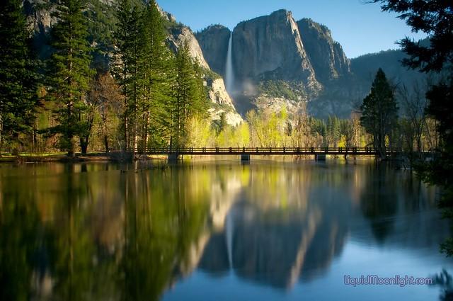Yosemite Falls Sunset