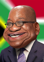 Jacob Zuma by DonkeyHotey