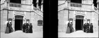 Crypte, Lourdes, 13 juillet 1906