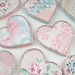 Vintage Wallpaper Hearts
