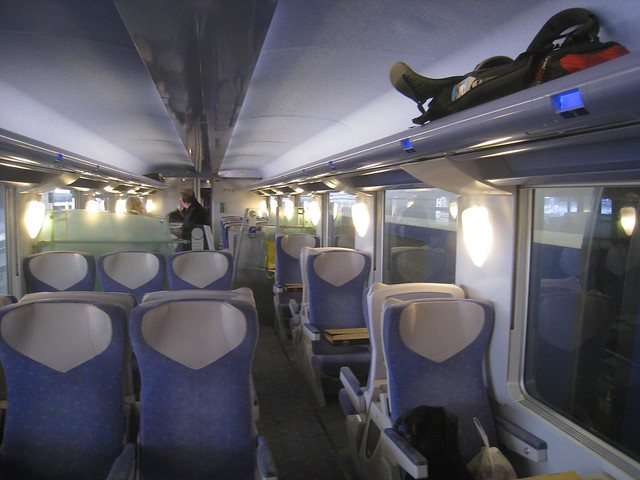The trains in Europe are a backpacker's best friend