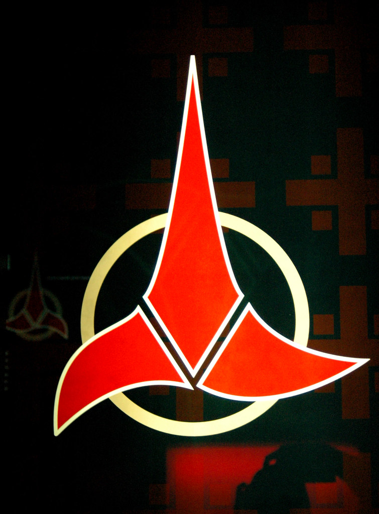 Klingon Insignia Crop A Photo On Flickriver