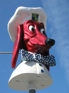 Restored Doggie Diner Head
