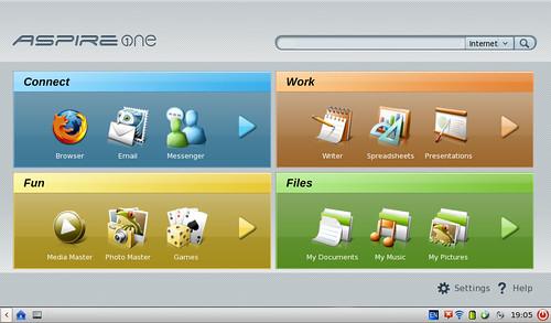 Linux Linpus Lite sur Acer Aspire One