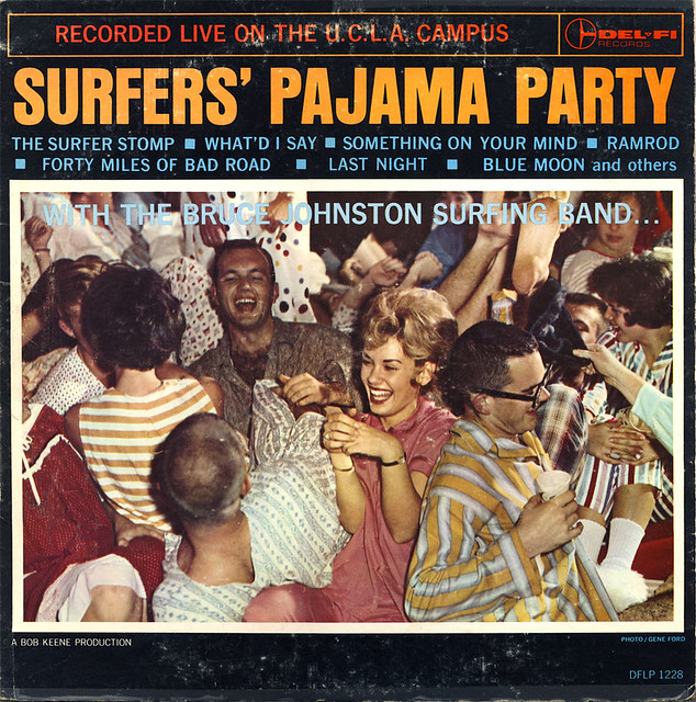 The Bruce Johnston Surfing Band - Surfer's Pajama Party album cover