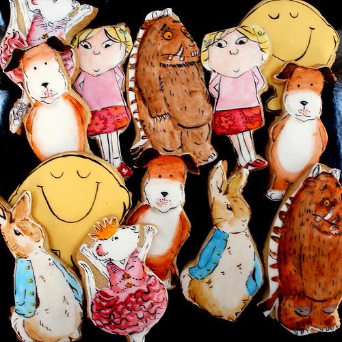 Book Character Cookies