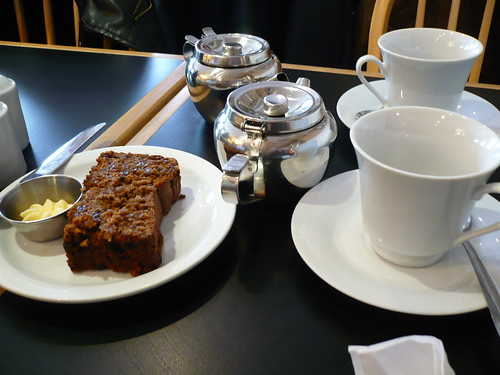 Barm Brack and tea at the Irish Tea House, NOTL